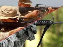M4 vs AR15 - Comparison