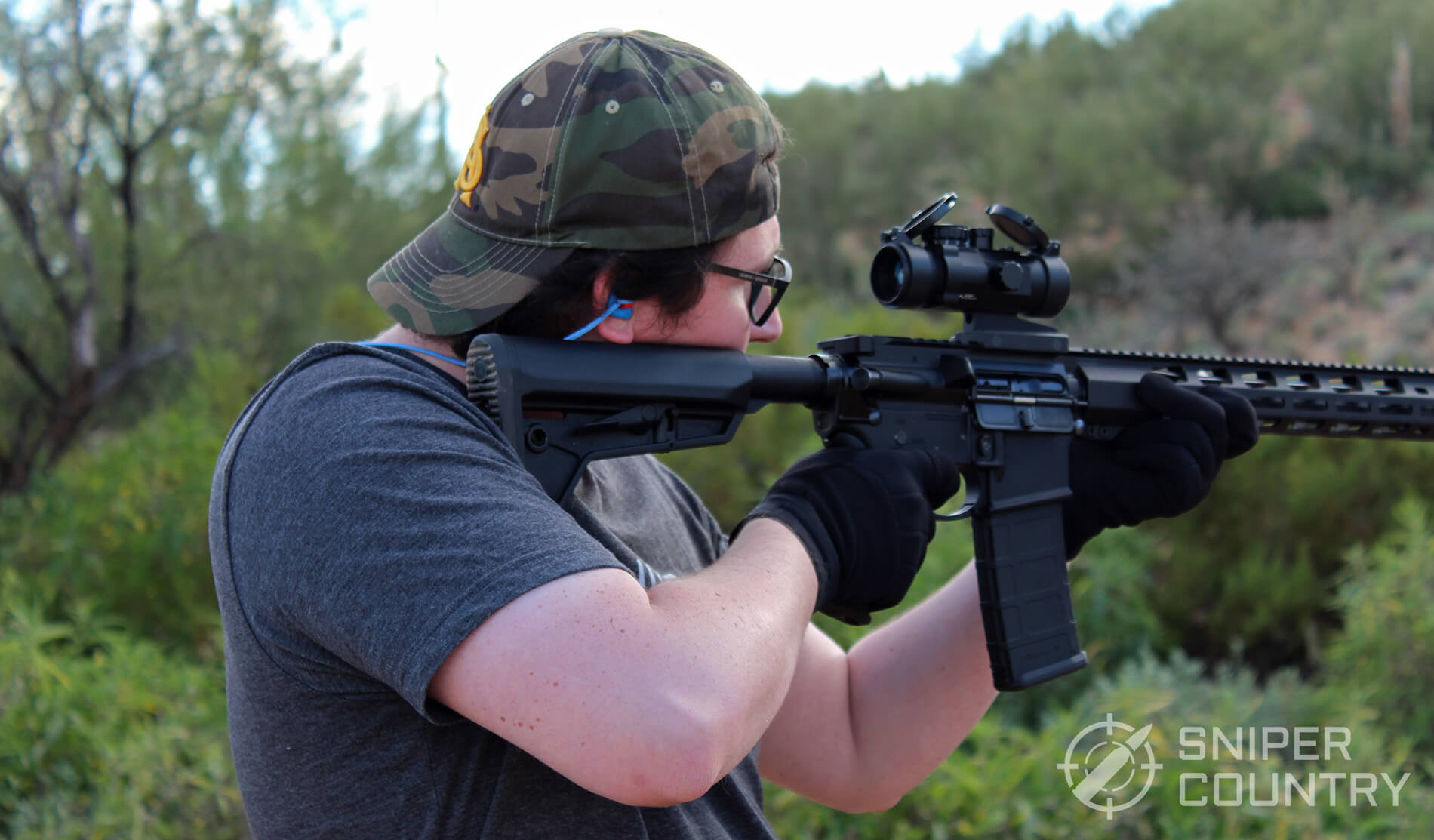 Magpul Core AR Shooting