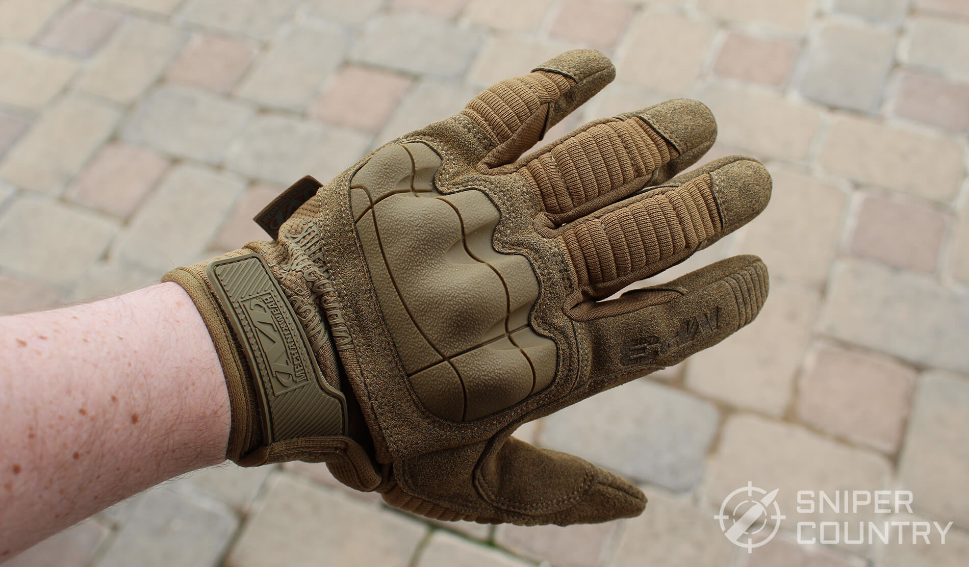 Mechanix M-Pact Back of Hand