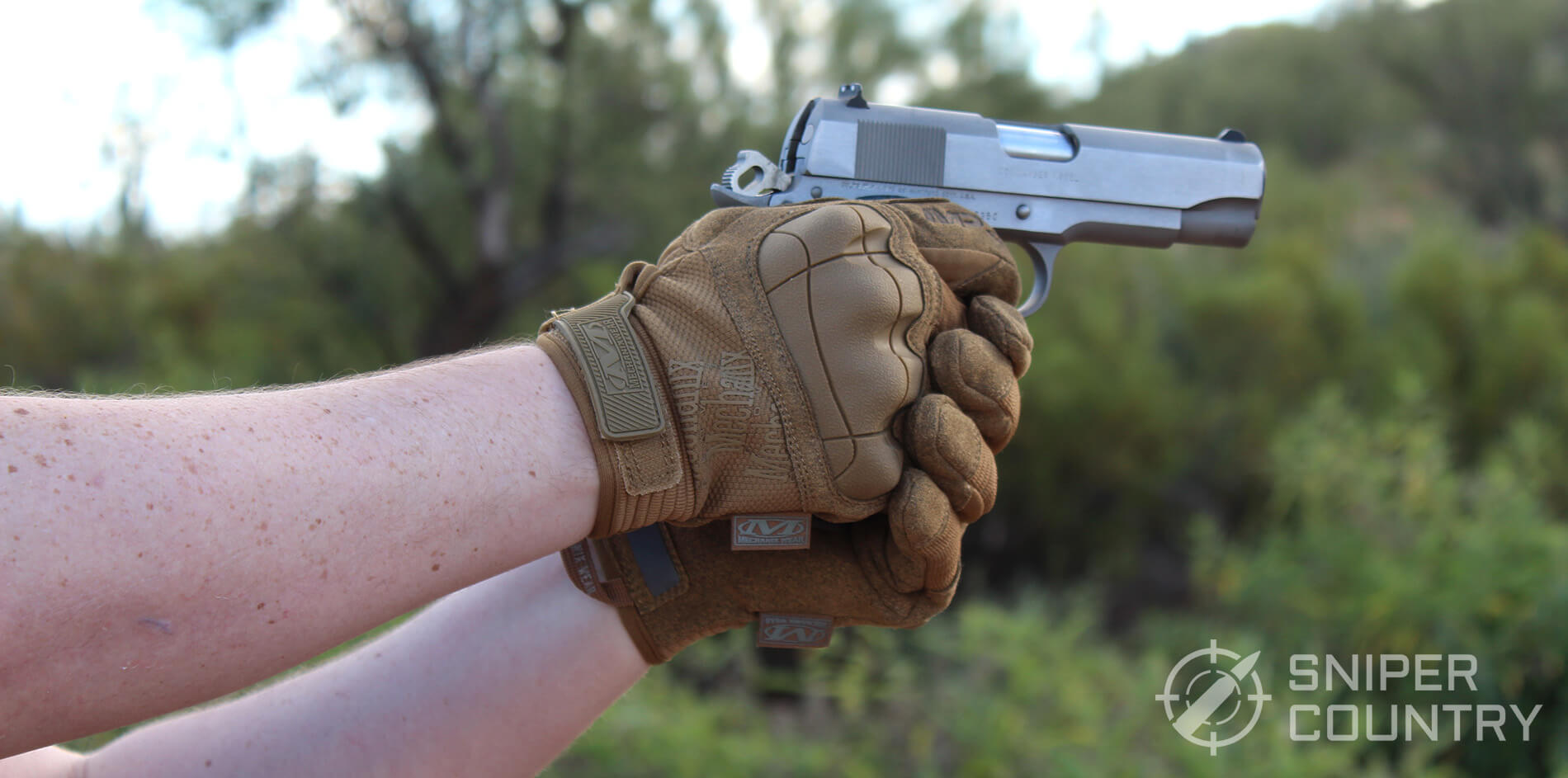 Mechanix M-Pact Pistol Shooting
