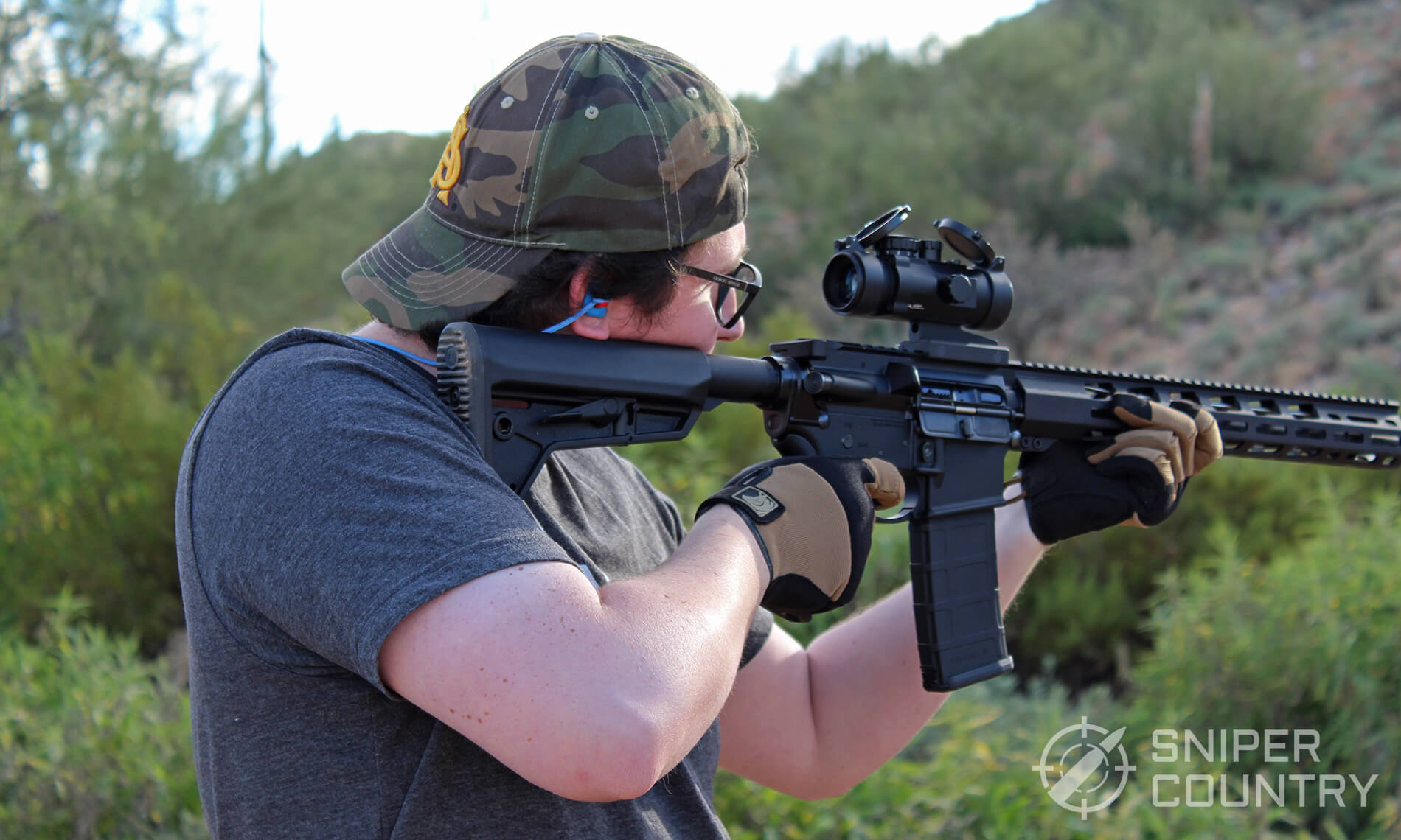 PIG tactical Alpha AR Shooting