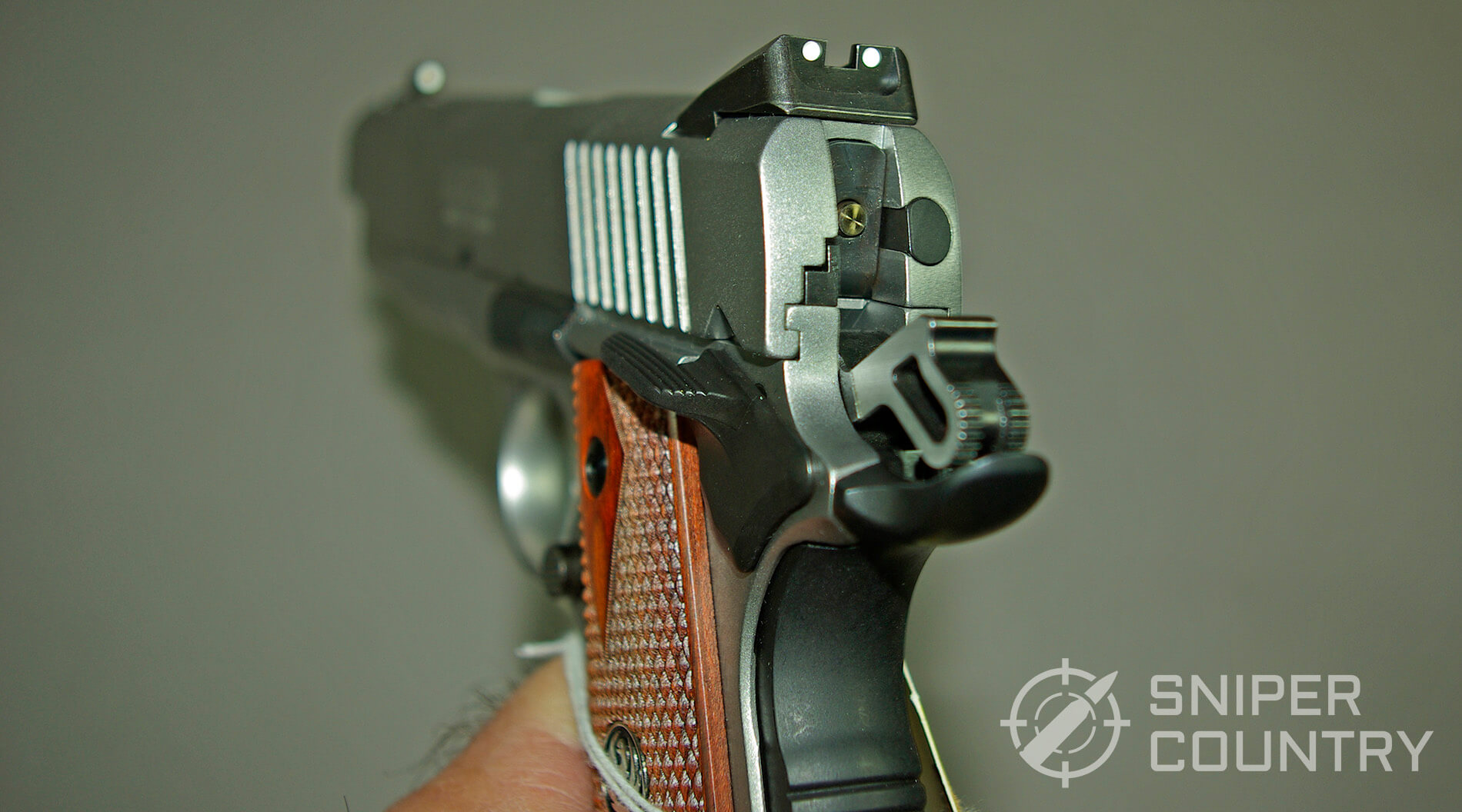 Ruger SR1911 CMDR Hammer