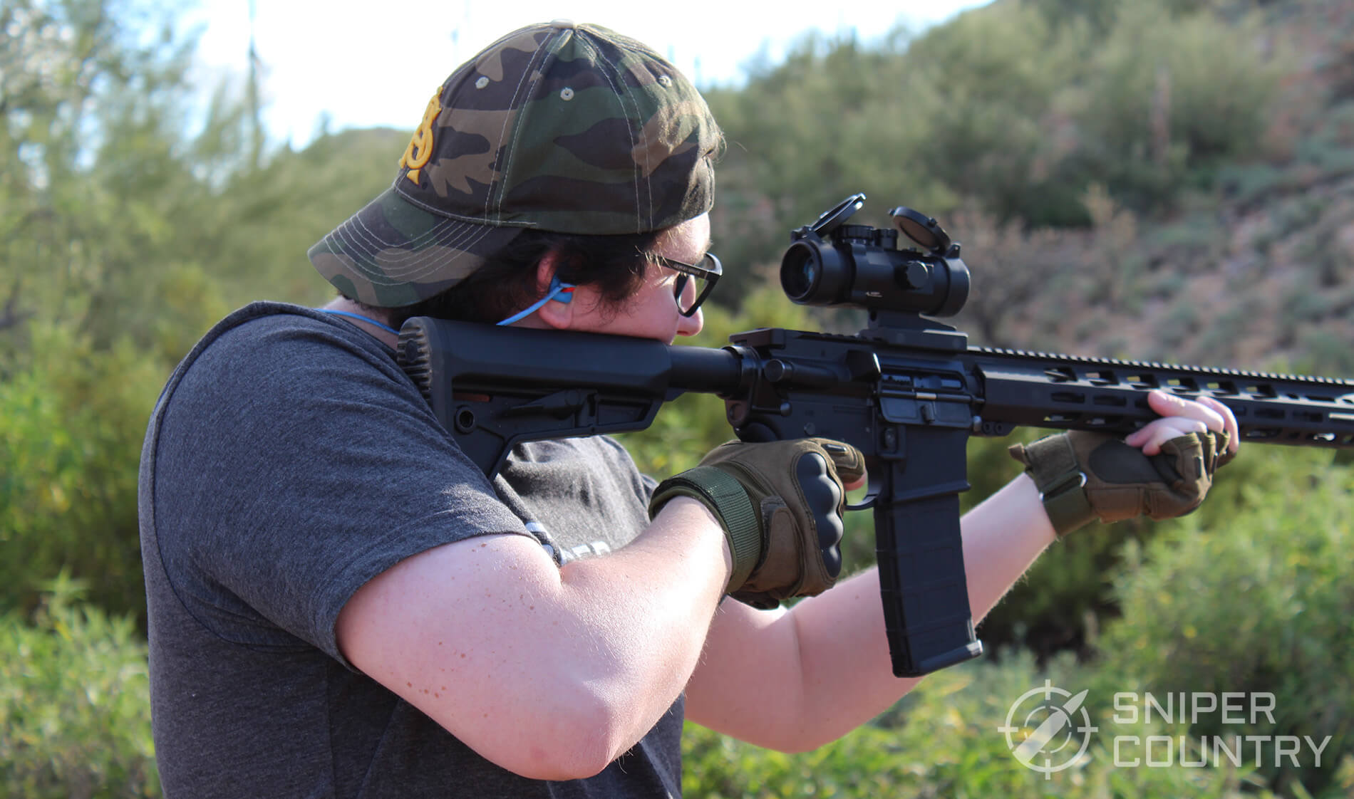 Titan Ops AR-15 Shooting
