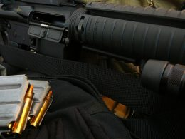 AR-15 with ammo and hard case