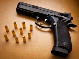 CZ 75 SP-01 with bullets