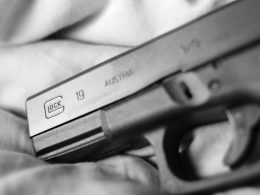 A close up shot of the Glock 19