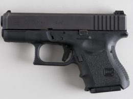 Glock 26 with a sight