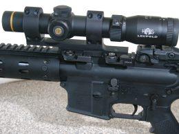AR-15 Rifle Daniel Defense with Leupold scope
