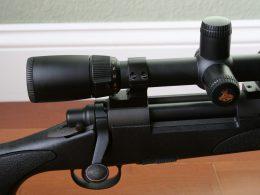 A close up shot of the Remington 700 trigger