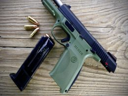 Ruger SR9 with a magazine