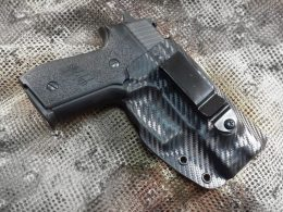 Sig Sauer M11-A1 with a holster