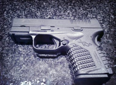 Springfield XDS with a laser