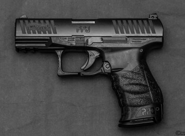 A close up shot of the Walther PPQ