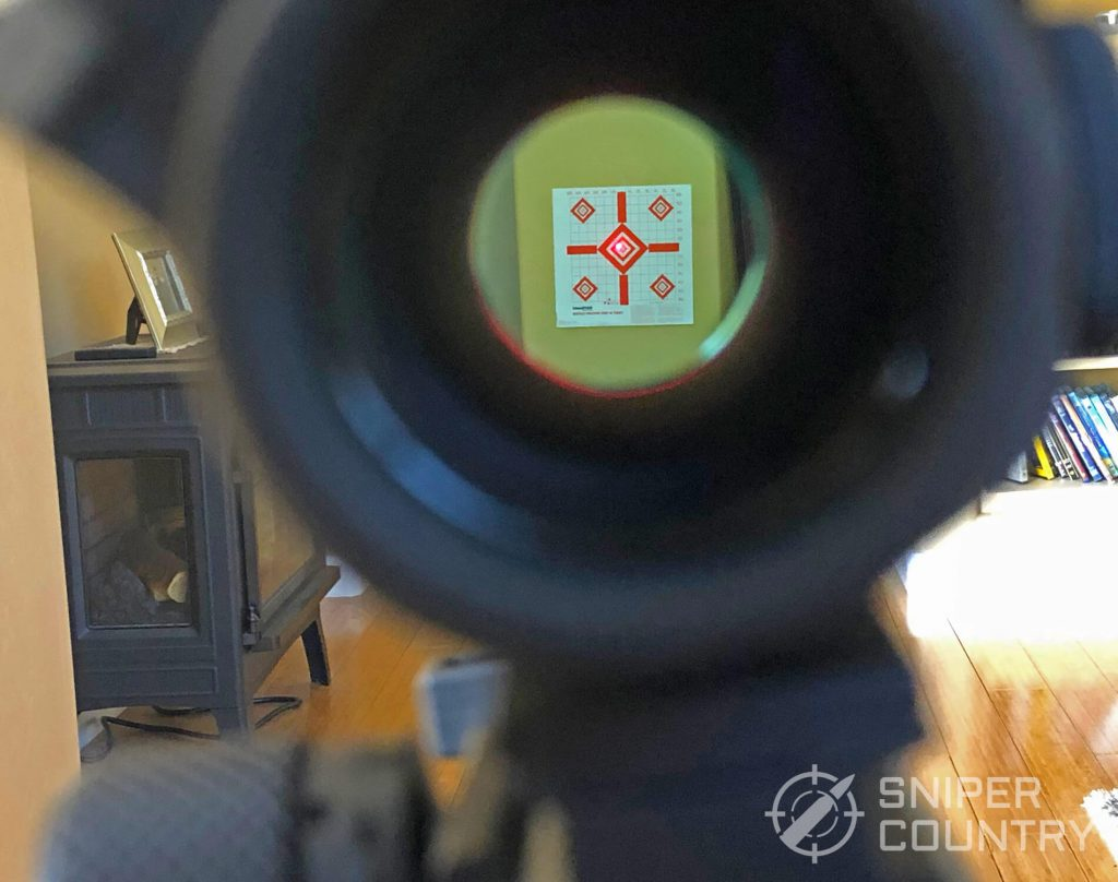 Aimpoint Pro see through on target