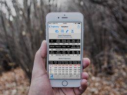 Ballistic Calculator App On Smartphone