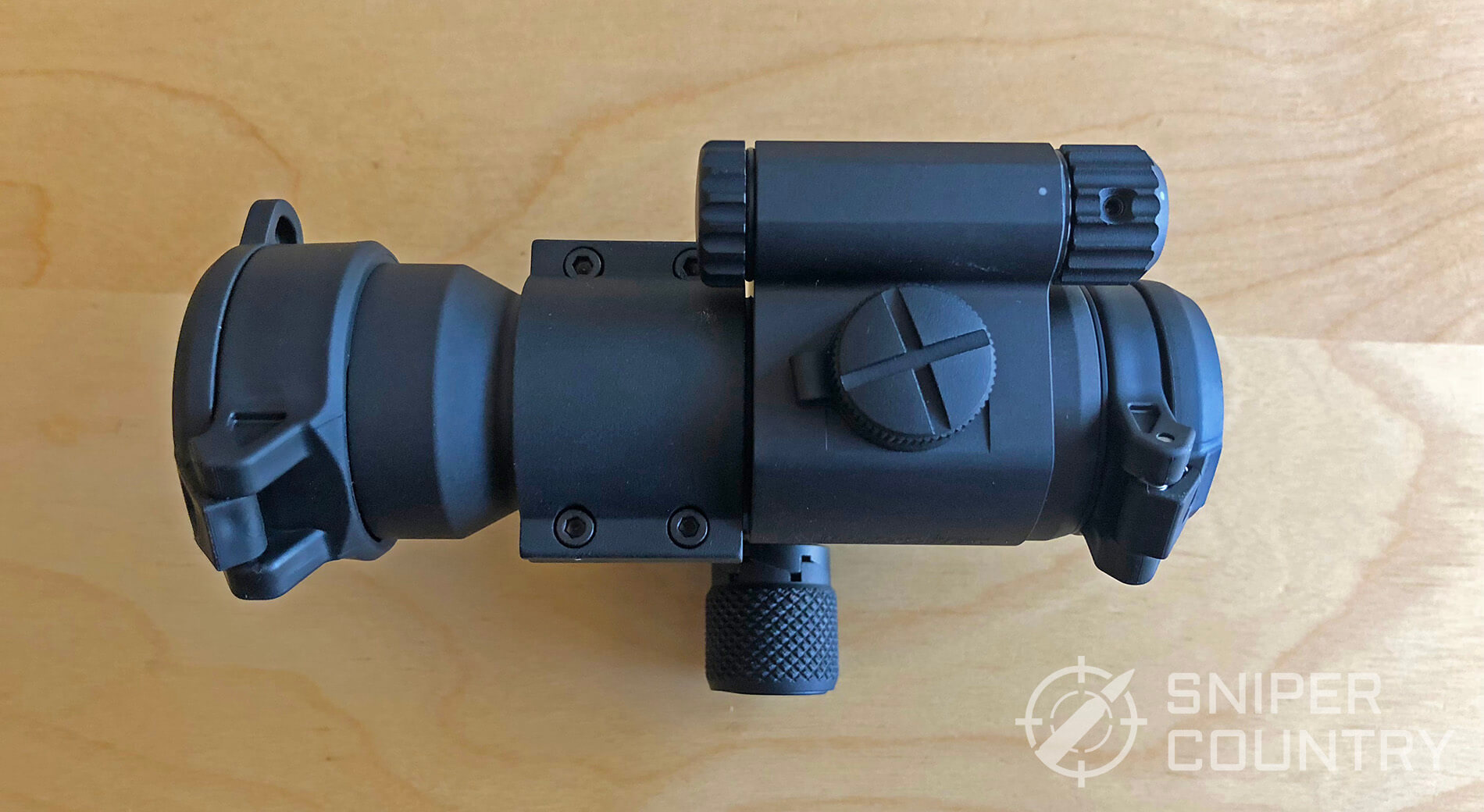 Rail clamp knob on Aimpoint PRO
