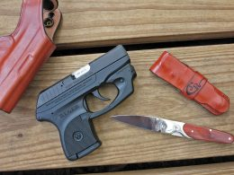 Ruger LCP and holster