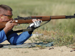 Shooting in the prone position