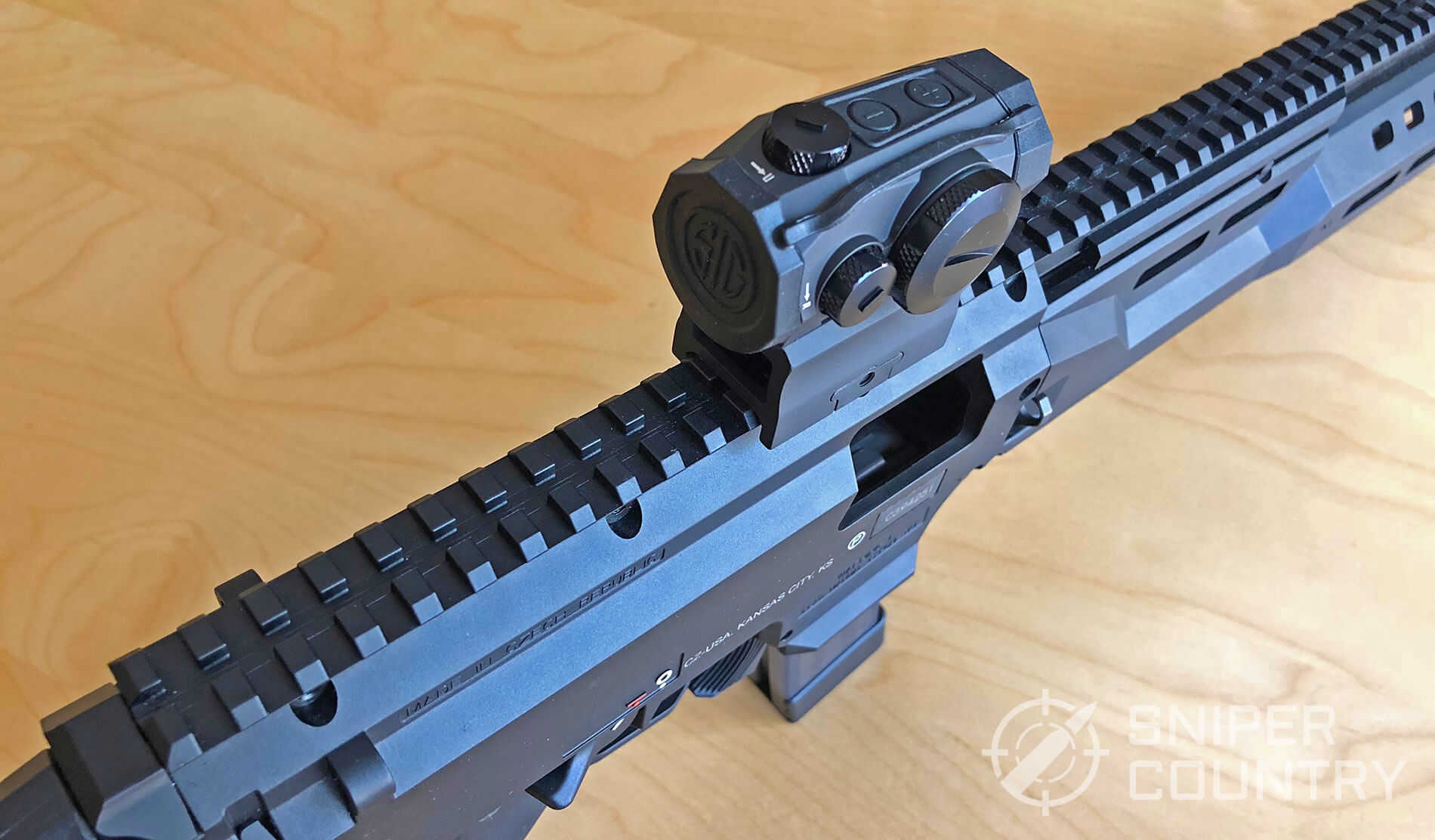 Sig Sauer Romeo 5 mounted on 9mm carbine