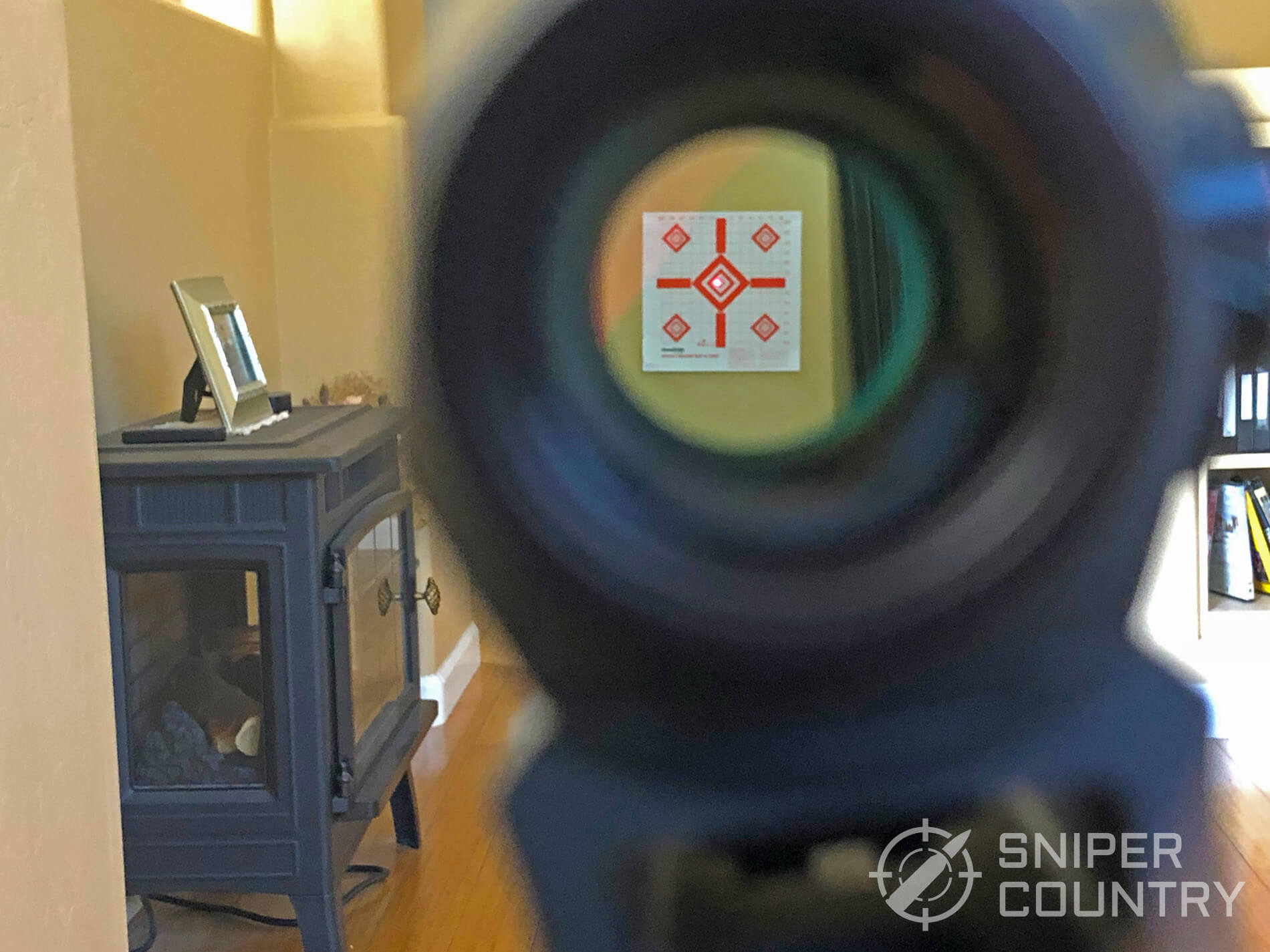Sig Sauer Romeo 5 reticle see through on target