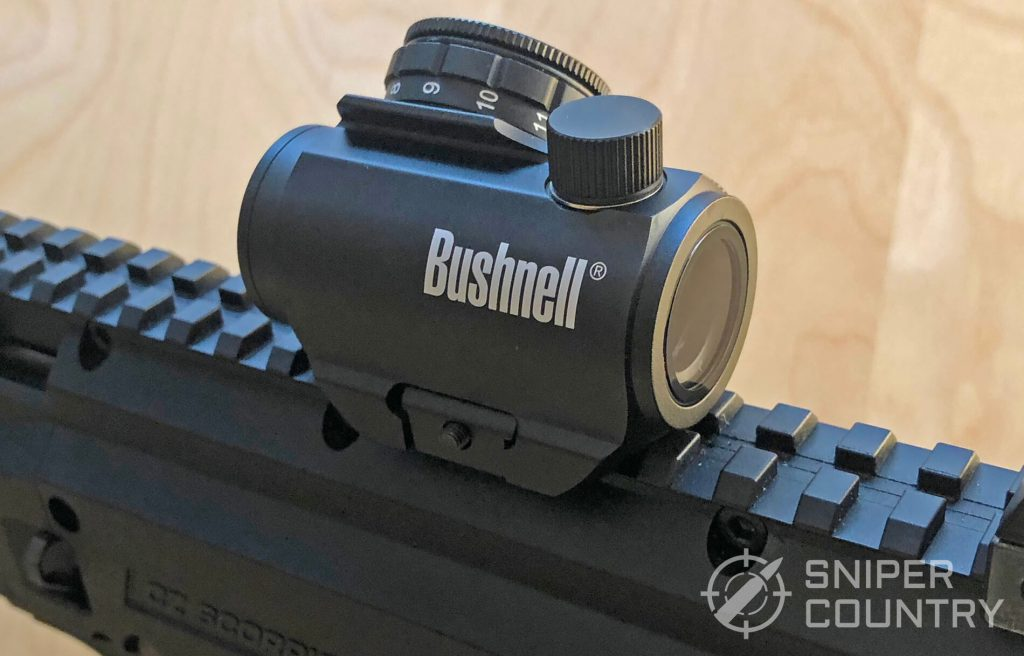 Bushnell TRS-25 Angled View