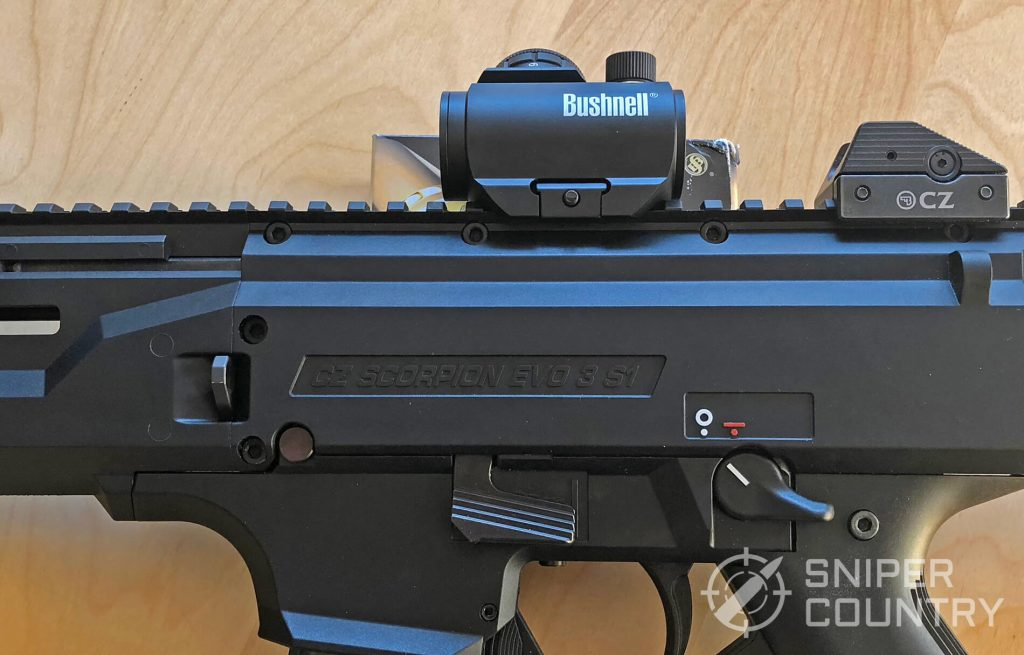 Bushnell TRS-25 sideview
