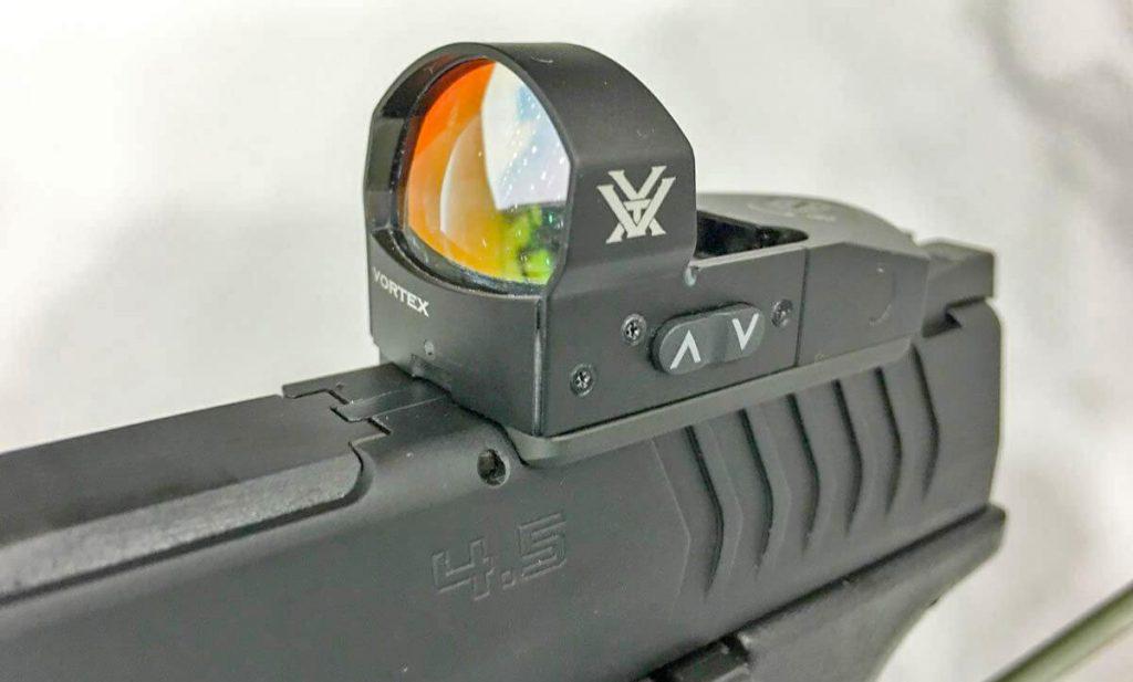 Vortex Venom on handgun