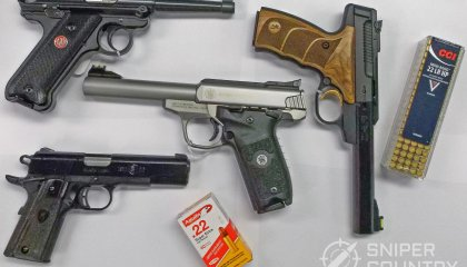 Best .22 LR Handguns [By Brand]