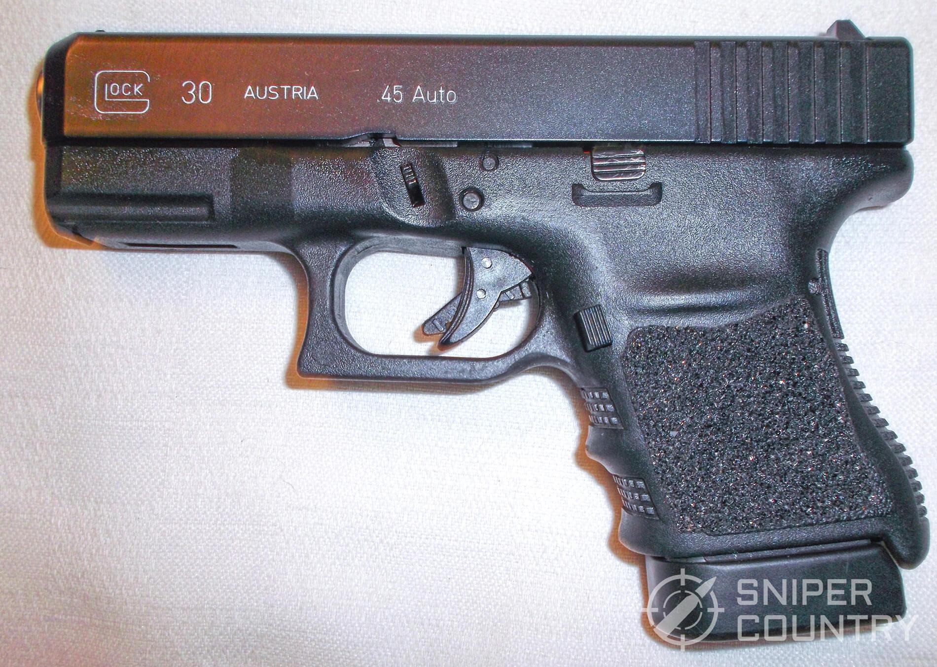 Glock 30 left side