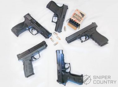 9mm pistols and ammo