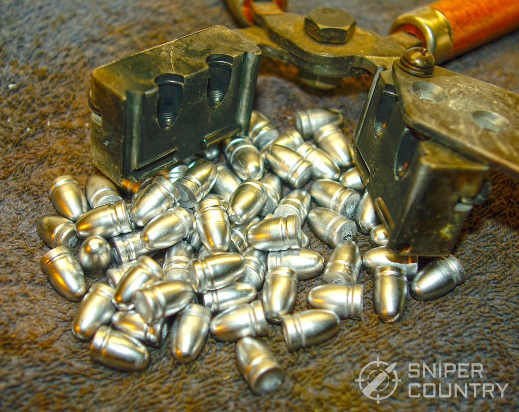 9mm cast bullets and Mold