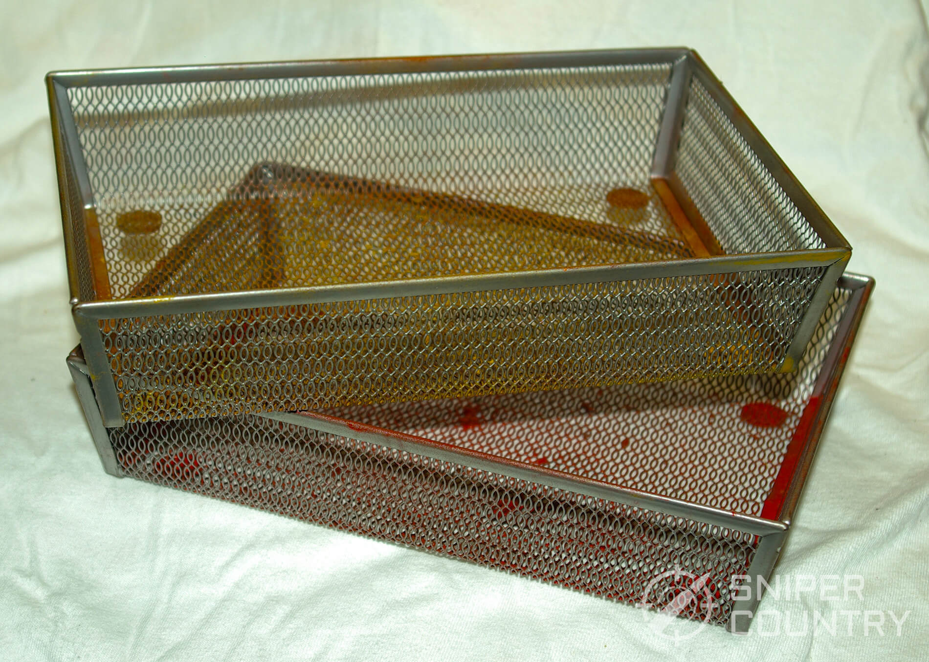 Trays used for coating