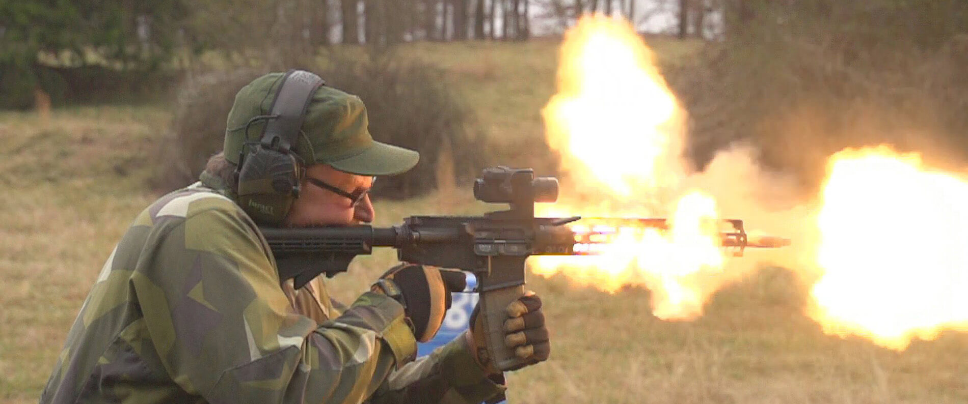 AR-15 barrel heating up