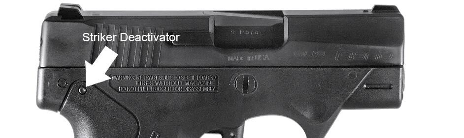 Beretta BU9 Nano Striker Deactivator