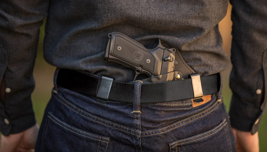 IWB carry handgun