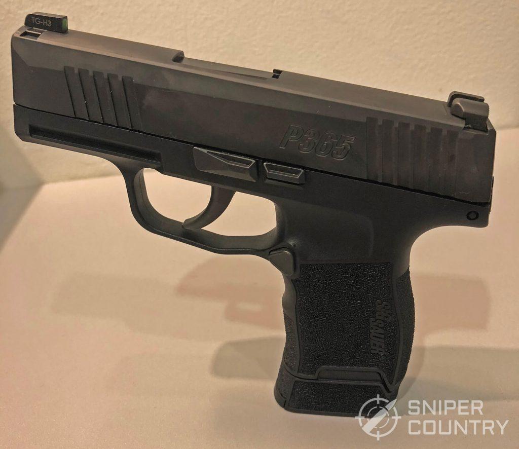 SIG P365 Left side