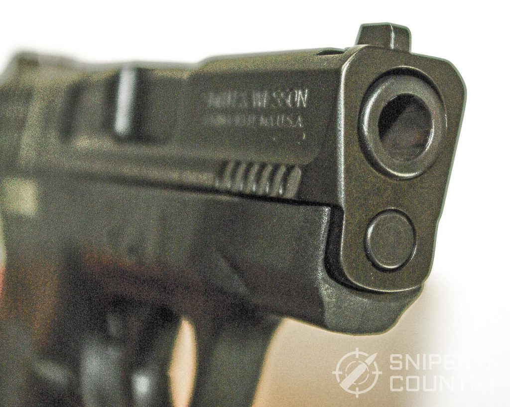 S&W M&P Shield 9 Muzzle