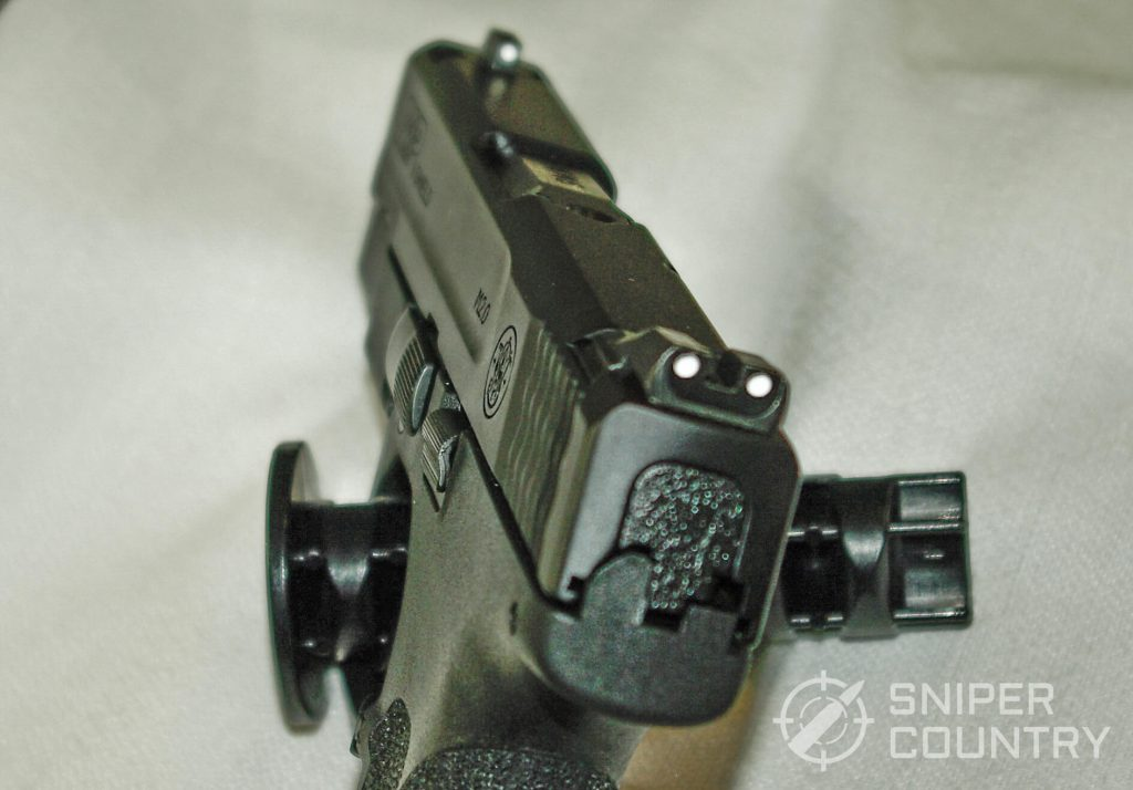S&W M&P Shield 9 Rear Sight