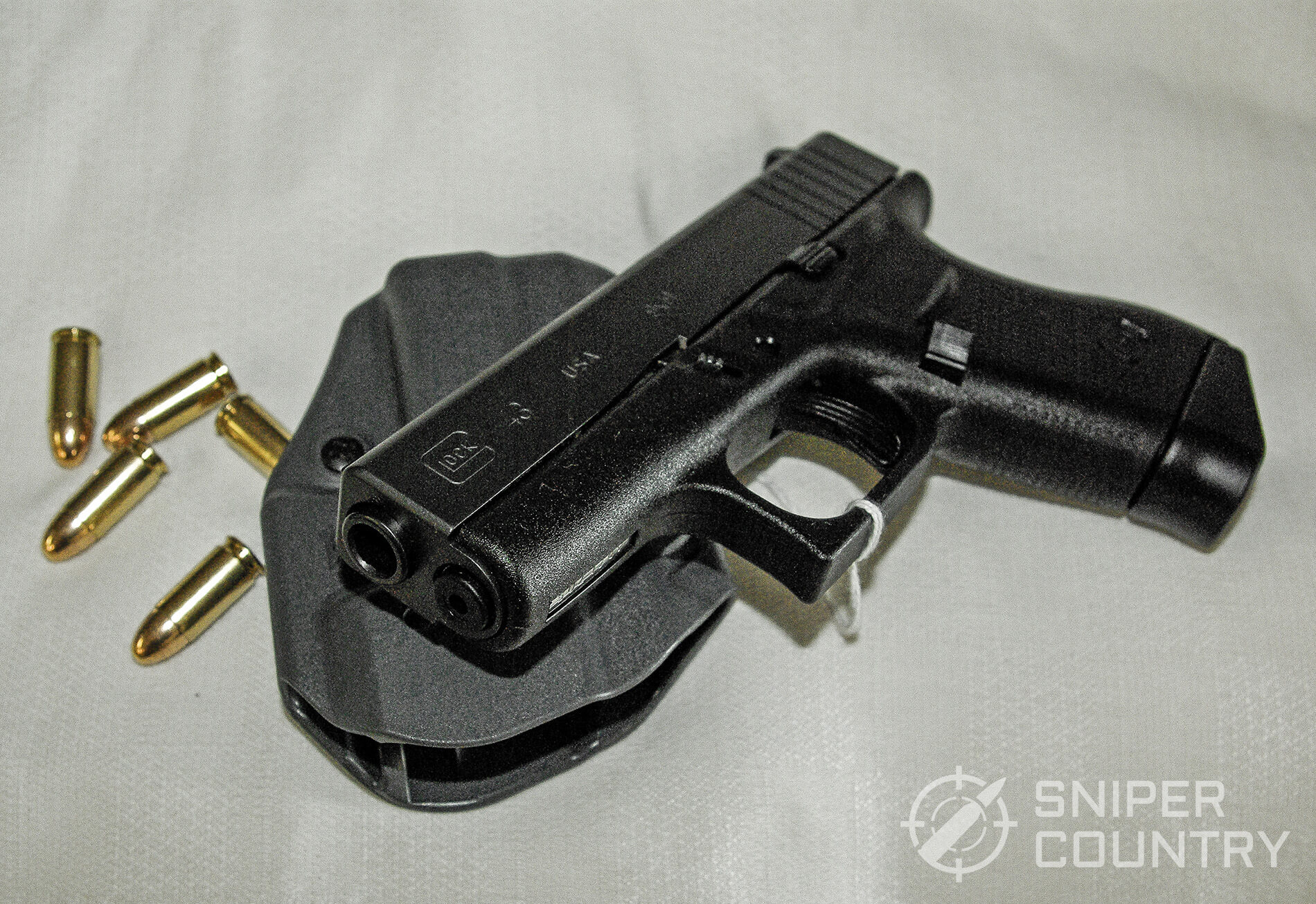 Subcompact glock and ammo