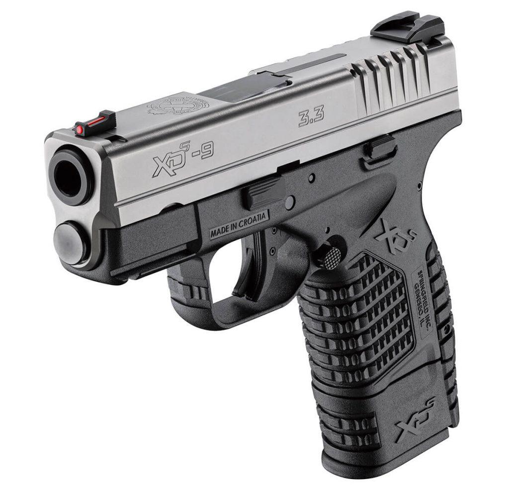 XD-S 3.3 9MM Handgun muzzle