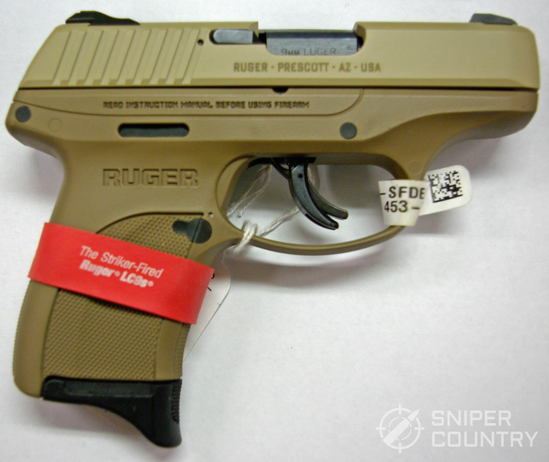 Ruger LC9S 9MM FDE
