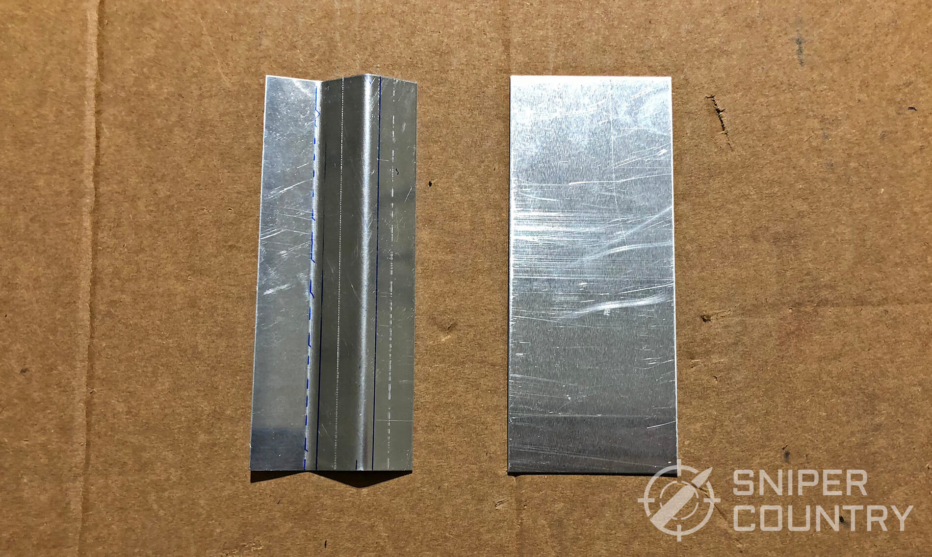 sheet metal pieces