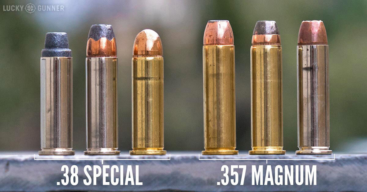 38 Special and 357 Mag ammo