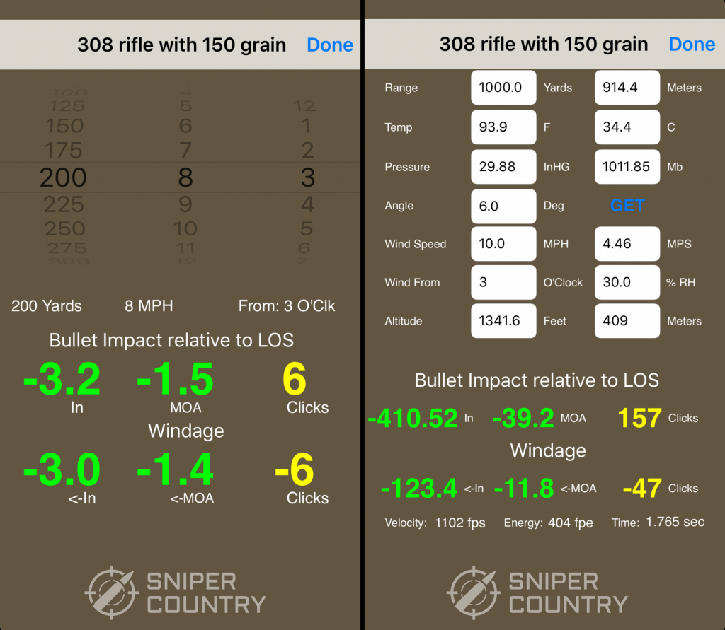 Bullet Flight M Calculate Simple and Ballistic