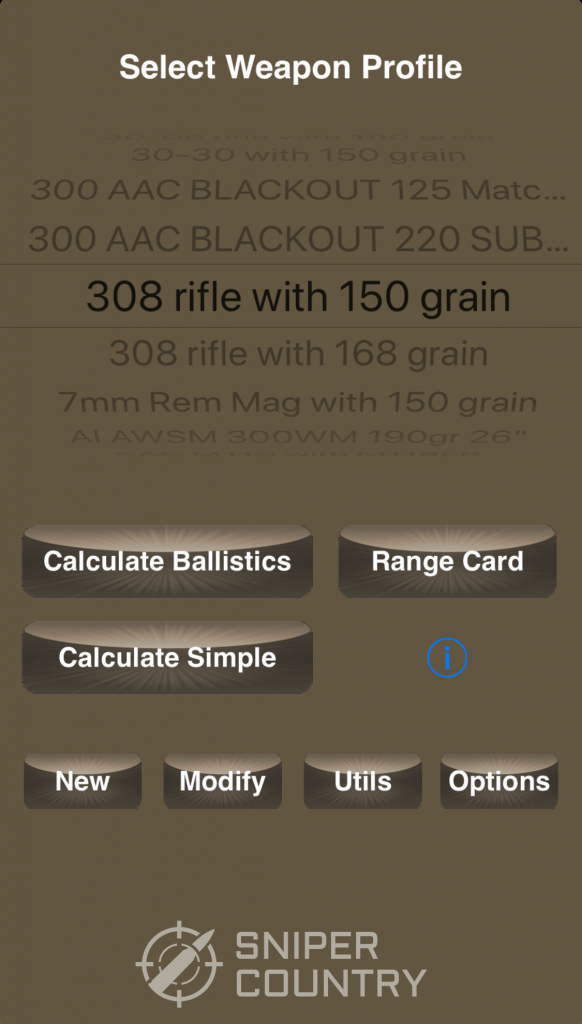What is the best ballistic calculator app