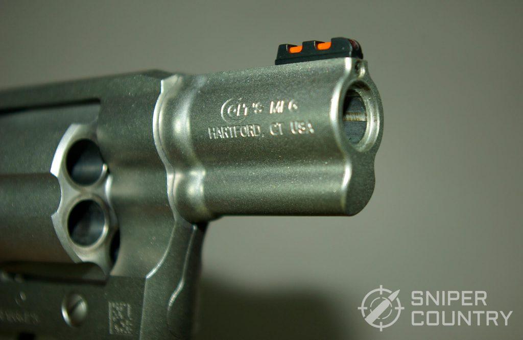 Colt Cobra Muzzle right side