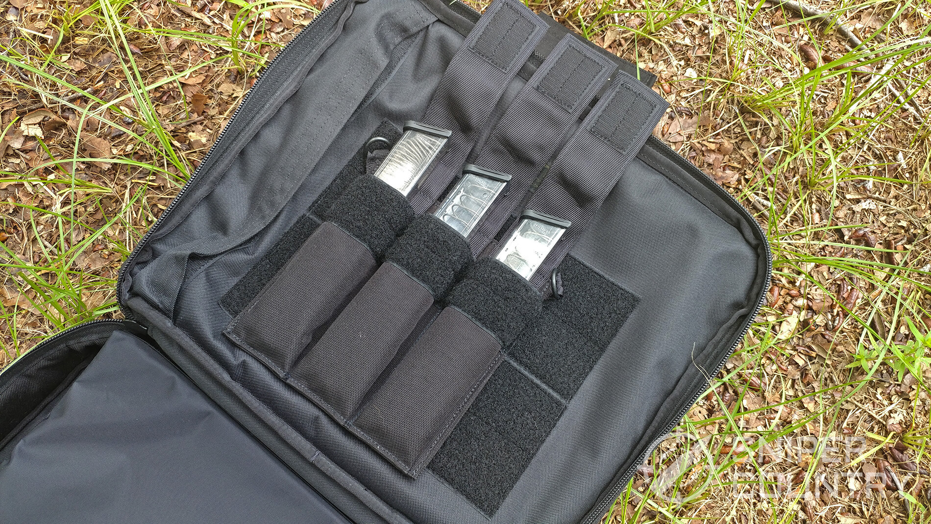 Elite Survival systems bag open