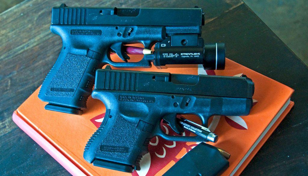 Glock 19 and Glock 26