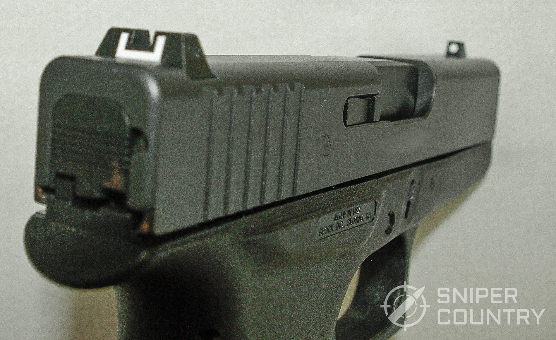 Glock 43 Rear Sight