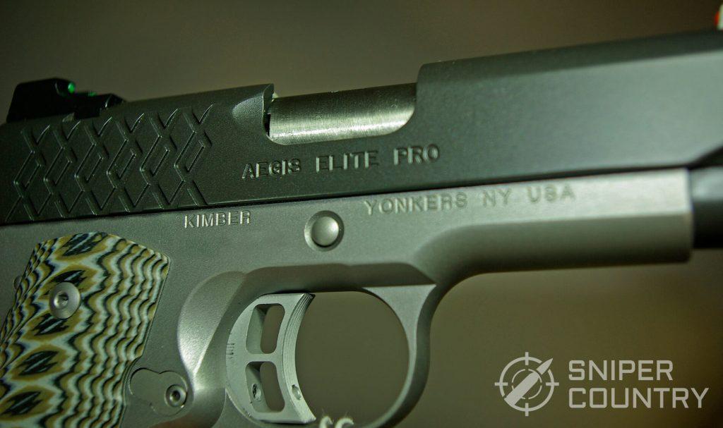 Kimber Aegis 9mm 1911 Trigger